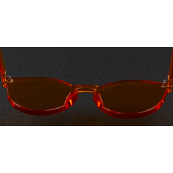 Transparent - plastic sunglasses - unisex