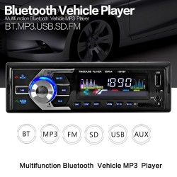 12V Bluetooth - AUX-IN MP3 FM-USB - 1Din - remote control - audio stereo car radio