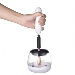 Electric makeup brush cleaning machine
