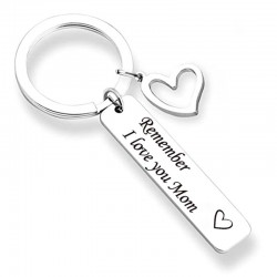 Remember I Love You Mom & Dad - keychain