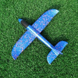 Flying glider plane - hand throwing toy