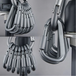 Aluminum alloy carabiner -...