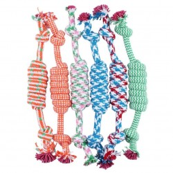 Cotton bone & rope - dogs...
