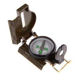 Tragbare Falten Armee Grn Objektiv Kompass Amerikanischen Militr Multifunktions Mini Camping Klett