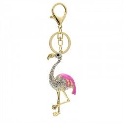 Crystal Flamingo - Keychain