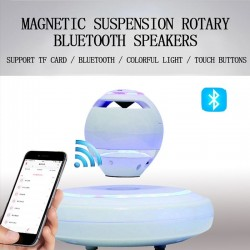 360 degree rotation - magnetic levitation - wireless Bluetooth speaker