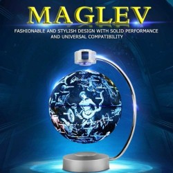 Magnetic levitation - electronic floating globe with LED