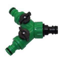 "3/4"" Y shape connector - thread tap joint for garden watering"