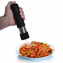 Electric pepper & salt grinder with LED