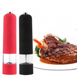 Electric salt & pepper grinder with LED light