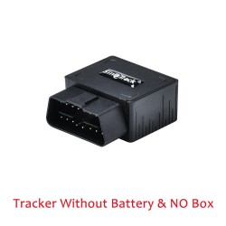 Mini plug & play OBD GPS tracker - GSM OBDII vehicle tracking device - 16 PIN interface with software & app