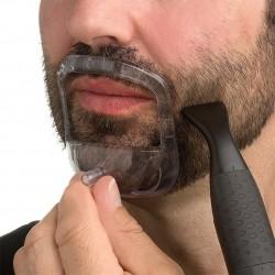 BellyLady 5 teilesatz Mnner 5 Gren Bart Pflege Grooming Kit Bart Modellierung Werkzeug mit Lag