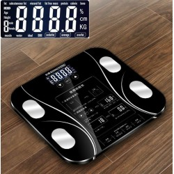 13 body index - electronic smart weighing scale with LCD display