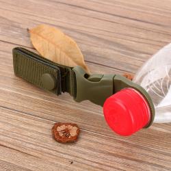 Military nylon buckle hook - water bottle holder