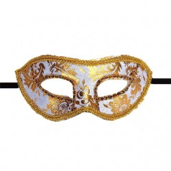 Venetian face mask for masquerade & halloween
