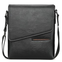 Vintage frosted leather - crossbody bag POLO