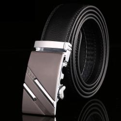PATEROY Men's Belt Male Waist Belts Genuine Leather