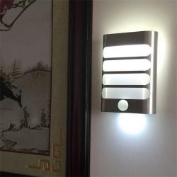 Led PIR Motion Sensor Night Light For Fence Garden Corridor