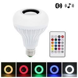 Smart RGB-LED-Lampe mit drahtlosem Bluetooth-Lautsprecher - Fernbedienung