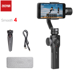 Smooth 4 Q - 3-axis handheld gimbal stabiliser for smartphone & action camera