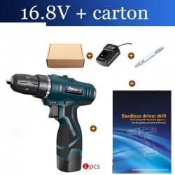 16.8V Elektrische schroevendraaier - boor - set