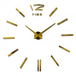 Large decorative DIY wall clock