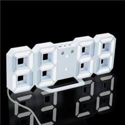 Modern 3D LED Digital Alarm Wall Clock
