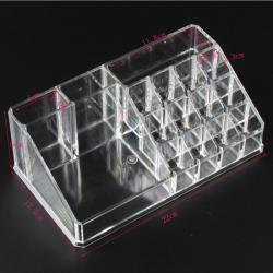 Acrylic transparent makeup organizer - storage box