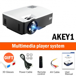 LED 1800L - support full HD - mini projector