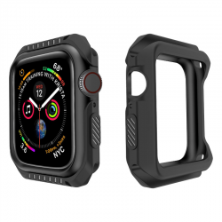 Silicone & hard armor case for Apple Watch 1-2-3-4-5