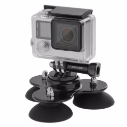 GoPro Triple 360 Saugnapf selbstmontierend abnehmbar