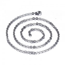 I Love You - heart - stainless steel necklace 2 pcs
