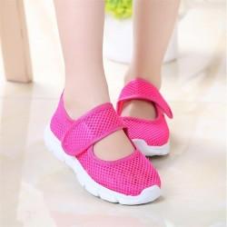 Candy Farbe Kinder Schuhe Sommer Atmungsaktives Mesh Kinder Schuhe Einzige Netto Tuch Sport Turnschu