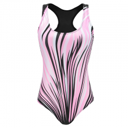 Women sport one piece racer swimsuit plus size XXXL
