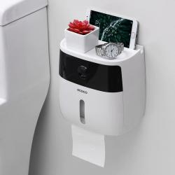 Waterdichte Toiletrolhouder Creative Papieren Handdoeken Houder Voor Keuken Badkamer Wc Papier Opber