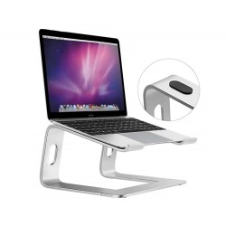 Portable aluminum laptop stand for notebook