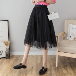 2019 womens midi pleated skirt