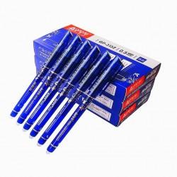 Erasable pen ballpoint with 0.5mm nib