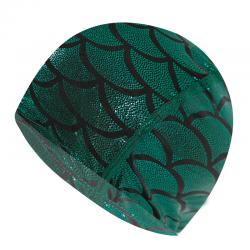 Nylon-Badekappe mit Meerjungfrau-Muster - Unisex