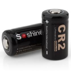 CR 2 - 3V 1000mAh Batterie 2 Stück