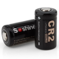 CR 2 - 3V 1000mAh battery 2 pieces