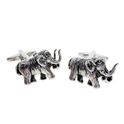 Fashion cufflinks with mammoth