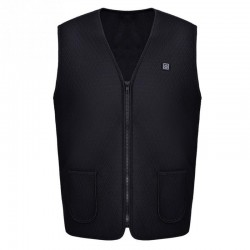 USB infrared heating vest - electric thermal jacket