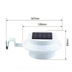 Solar LED garden outdoor light
