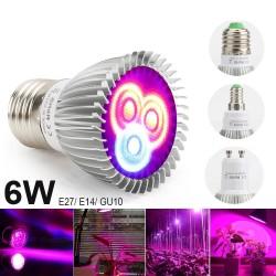 6W - E27 E14 GU10 - LED kweeklamp - hydrocultuur