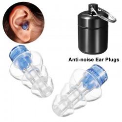 Anti-Lärm Ohrstöpsel - wieder verwendbar - mit Box - Gehörschutz - party plugs