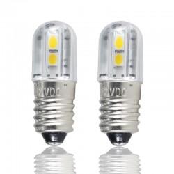 E10 - DC 6V 12V 24V 36V 48V - LED-lamp - binnenverlichting 4 stuks