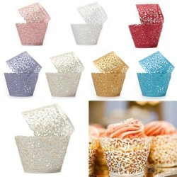 Muffin & cupcake paper wrappers 12 pieces