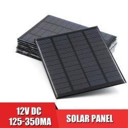 Solar panel 12V - mini battery