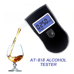Professionele alcoholtester - blaastest - LCD display